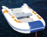 Tipo inflable plegable barco inflable (UB200-UB650) del deporte de Liya los 2.0-6.5m Hypalon