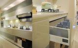2016視覚対照のアクリル(zv-002)が付いている現代木の食器棚