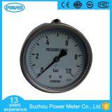 "plein indicateur de pression de connexion de dos d'acier inoxydable de 4 "" 100mm En837-1"