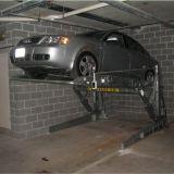 Две должности уровня наклона гараж парк подъемника