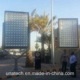Aluの広告。 ポスター旗の印刷媒体LEDの屋外背部ライトボックスのスクローリング掲示板
