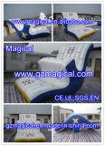 水ゲームの楽しみ(MIC-282)のための膨脹可能な回転スライドロケット