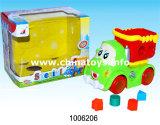 Brinquedo de pato de plástico com bateria elétrica (1006204)
