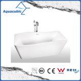 Bañera libre inconsútil de acrílico pura del cuarto de baño (AB6512)
