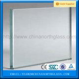 o ácido decorativo de construção desobstruído e matizado de 4-8mm gravou o vidro