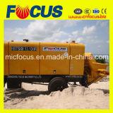 60m3-80m3 / H الكهربائية والديزل مقطورة مضخة الخرسانة مع سعر المصنع