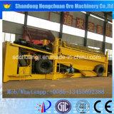 Equipamento móvel de processamento de mineração de ouro