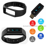 Bracelet intelligent de Bluetooth de long écran OLED en attente (HB02)