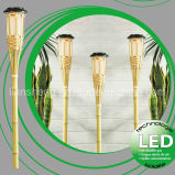 Bamboo lumière solaire (LS-1040)