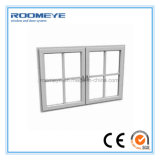Openslaand raam van het Glas van de Schommeling van pvc van de Isolatie van het Ontwerp van Roomeye het Akoestische Plastic Dubbele