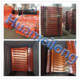 Lager-zusammenklappbare Stahl-LKW-Gummireifen-Speicher-Zahnstange