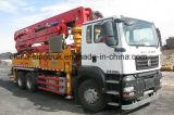 Camion chaud de pompe concrète de vente de 24-58meters