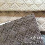 Tissus de textile à la maison piquants de rapiéçage avec la configuration de réseau