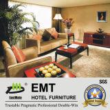 Sofa moderne de meubles d'entrée d'hôtel réglé (EMT-SF09)