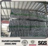 Fabbricazione di tubo d'acciaio quadrato rettangolare di Gi