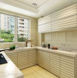 Placa de grãos de melamina personalização do armário de cozinha