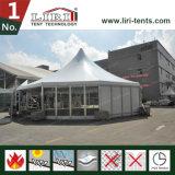 Tenda superiore del tetto per la tenda di cerimonia nuziale delle 100 genti con le decorazioni