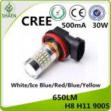 De LEIDENE CREE Lichte AutoVerlichting 30W 9005 12-24V 500mA van de Auto