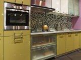 Новая популярная акриловая ая мебель кухни (zv-027)