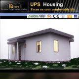 Casa prefabricada de acero certificada SABS del color durable con el sitio de la base