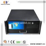 4u ATX Fall für Schaltungs-Stromversorgung mit LCD-Bildschirm/Tastatur