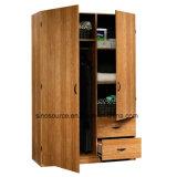 Garderobe van de Melamine van het Comité van China de Vervaardiging Aangepaste Houten (2, 3, 4door)
