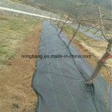 Tecido de barreira de ervas daninhas, tapete de tecido de poliéster poliéster, capa de terra de plástico, tecido de cobertura do solo Gnew PP