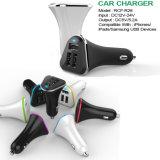 Luz LED de alta calidad 3 puertos USB Car Charger fábrica OEM