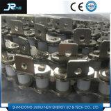 Chaîne à rouleaux de convoyeur industriel standard Triplex Steel Short Pitch