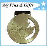 Изготовленный на заказ медаль цинка с плакировкой золота