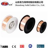 セリウム、BV、Nk、Glは溶接ワイヤの/MIGワイヤーEr70s-6を証明する