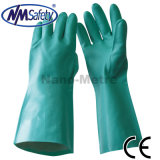 Nmsafety 15mil Green Nitrile Chemical Resistant Work Glove