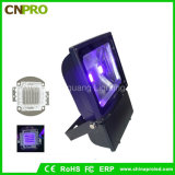 100watt Ultra Violet IP65 UV LED Flood Light com Us Plug para a América