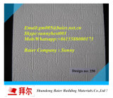 競争PVCによって薄板にされるギプスの天井のタイル(595/603mm*7mm)
