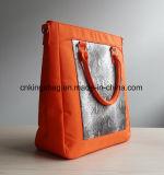 Oranje Microfiber met de Aktentas van de Dames van Pu
