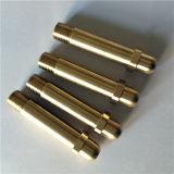 真鍮シャフトのCNCによって機械で造られる部品