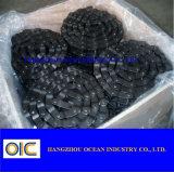 Chaîne 667h de cheville de charnière de convoyeur d'acier du carbone