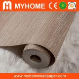 Papel de empapelar impermeable de los papeles pintados del PVC del hogar decorativo