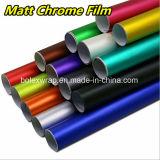 Film van het Chroom van de Kleuren van pvc de Materiële Matte, de VinylFilm van de Omslag van de Auto, de Breedte van 1.52m