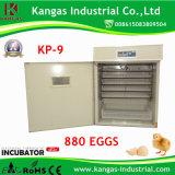 Machine automatique d'établissement d'incubation de volaille de machine agricole pour 880 oeufs