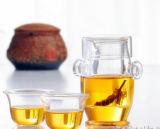 Bule de suco de bule de borosilicato com teapot com teapot elegante e elegante
