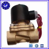 Латунь клапан соленоида регулирования потока AC клапана соленоида 220V воды 1 дюйма отключенный для воды