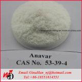 CAS 53-39-4 99.5%の最小の未加工ホルモンのステロイドAnavar