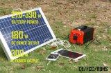 휴대용 태양 발전기 리튬 건전지를 가진 태양 에너지 저장 시스템