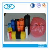 Sac d'ordures en plastique coloré en gros de sac de détritus
