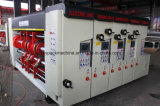 Máquina que corta con tintas de Slotting& de la impresión en color de la velocidad 4