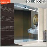 Vidrio Tempered 6-12 ajustable que desliza el sitio de ducha simple, recinto de la ducha, cabina de la ducha, cuarto de baño