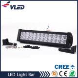 72W punto LED del coche de barra de luz de trabajo de la lámpara del barco del carro campo a través 12V