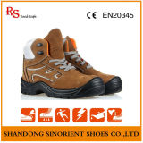 Sapatas de segurança de trabalho do dedo do pé de aço da engenharia
