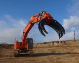 Die Soem-Exkavator-Stein-Demolierung, die Protokoll sortiert, halten sich fest